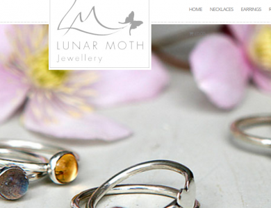 LUNAR MOTH JEWELLERY