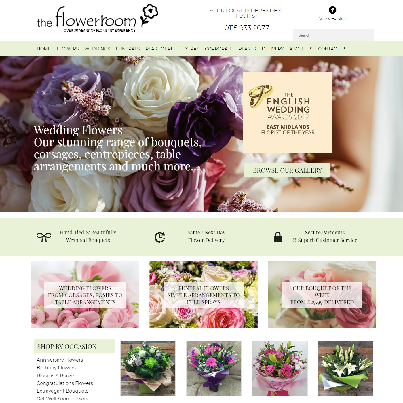 The Flower Room - Flower Delivery Nottingham